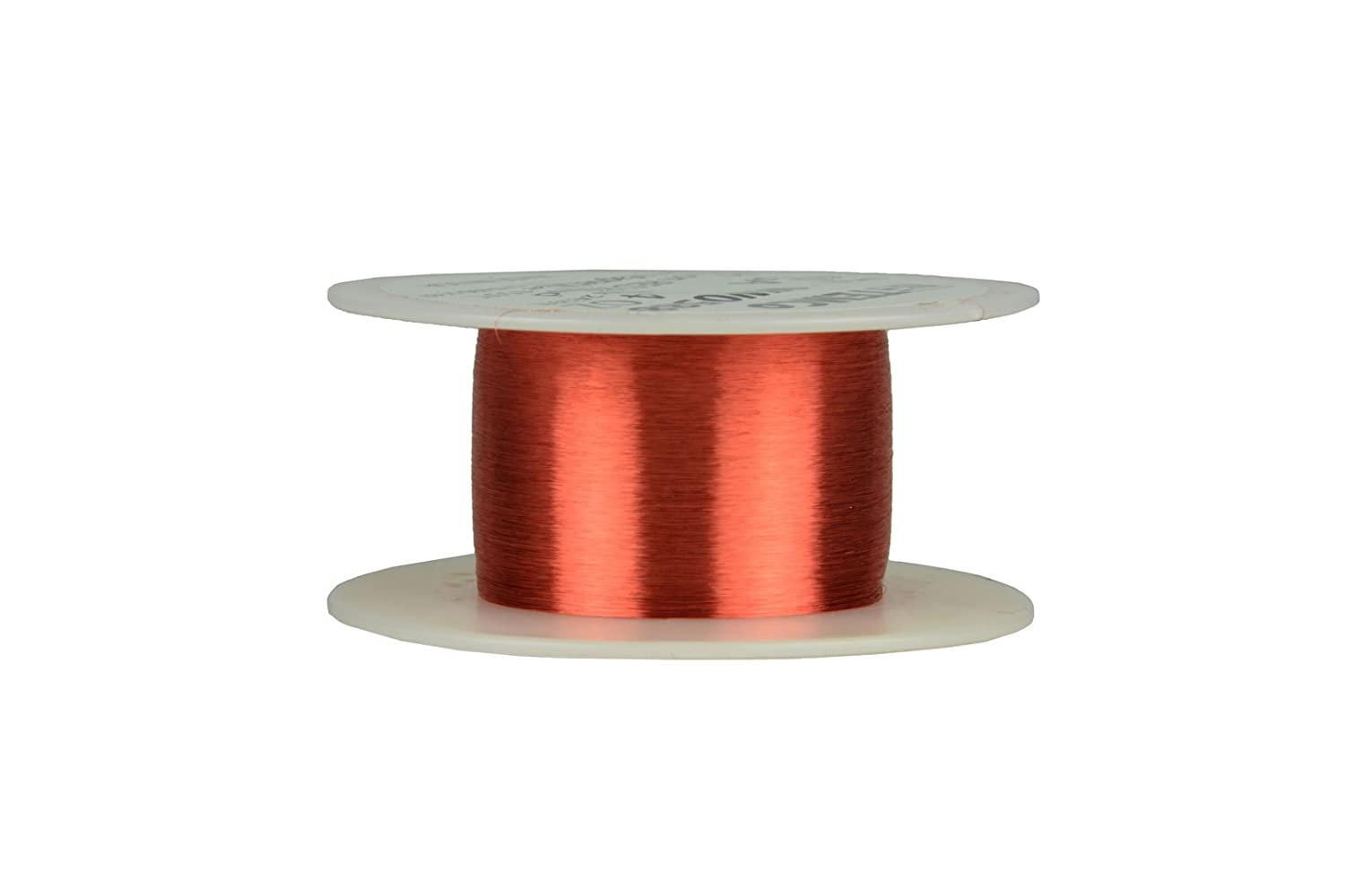 Amazon.com: TEMCo 45 AWG Copper Magnet Wire - 4 oz 24329 ft 155°C ...