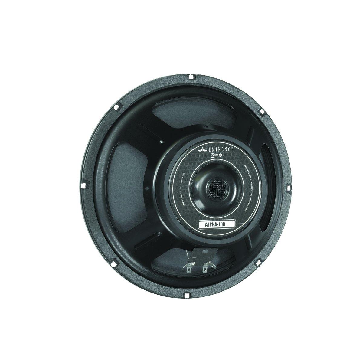 Eminence American Standard Alpha-10A 10'' Mid-Bass Pro Audio Speaker, 150 Watts at 8 Ohms