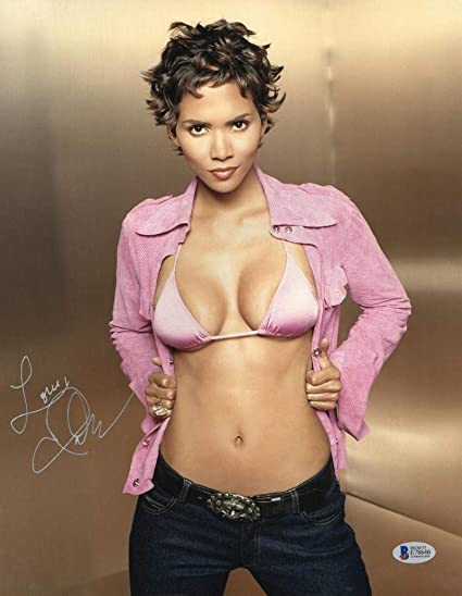 HOT SEXY HALLE BERRY SIGNED 11X14 PHOTO AUTHENTIC AUTOGRAPH ...