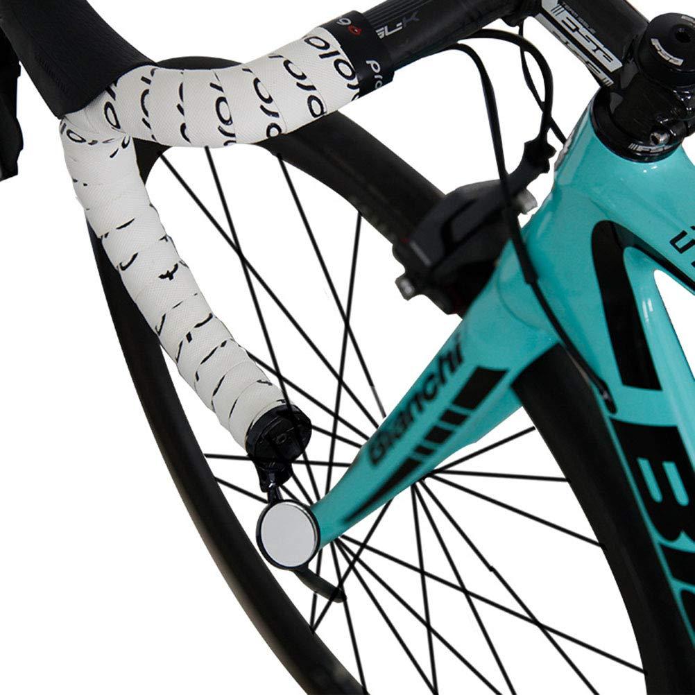 irrompible Kampre Espejo retrovisor retrovisor Giratorio 360/º para Bicicleta de Carreras