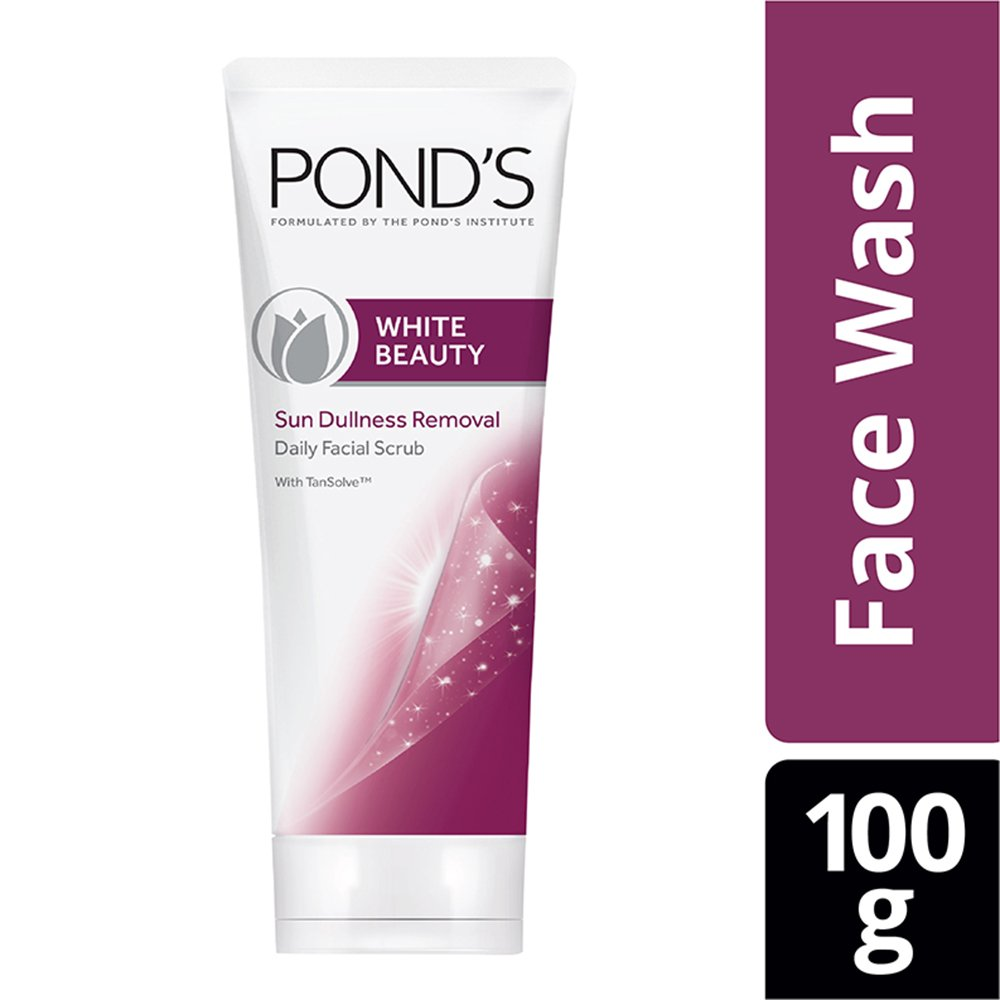 Buy Ponds White Beauty Sun Dullness Removal Daily Facial Scrub 100 Lightening G Online At Low Prices In India