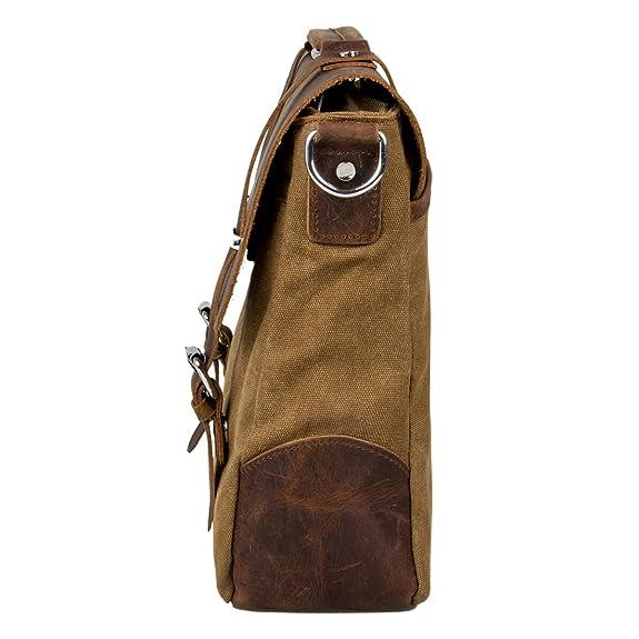 ECOSUSI-Borsa tracolla uomo in pelle Borsa pelle vintage Vintage   Retro  Borse a spalla  Amazon.it  Scarpe e borse 12cc88a310b
