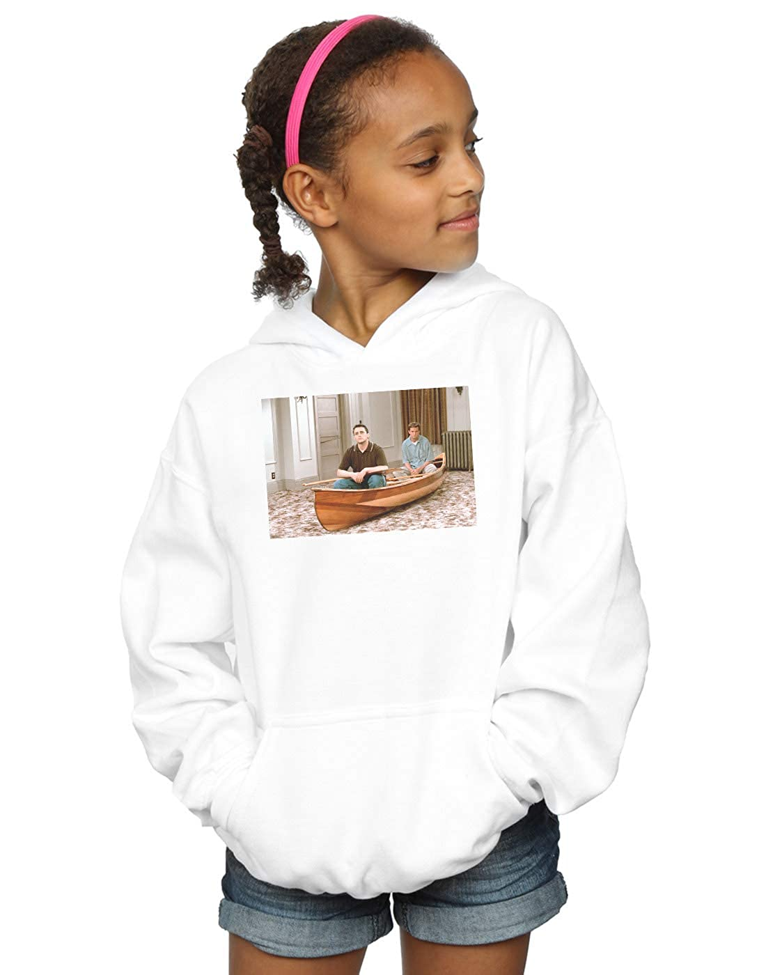 Absolute Cult Friends Girls Boat Photo Sweatshirt