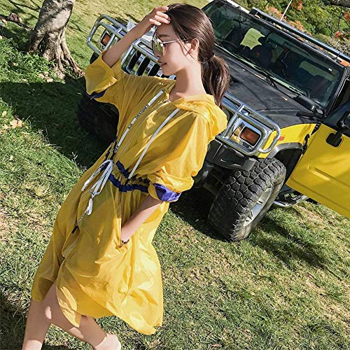 Cappotti Bobo Giaccone Baggy Gelb Estilo Outdoor Lunga Libero Donna Elegante 88 Cappotto Windbreaker Primaverile Especial Tempo Manica BrYnYRgqSw