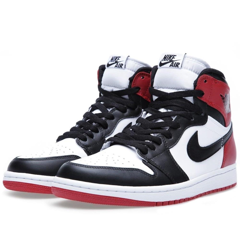 air jordan 1 black red white
