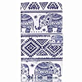 LG G Stylo Case / LG G Stylus (LS770) Case, NOKEA [Flip Fit] Premium PU Leather Wallet Card-Slots Cash-Slots & Kickstand [Anti-Scratches] [Drop Protection] Protective Case Cover (Elephant)