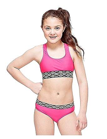 db774513b Amazon.com: Justice Swim Braided Bikini (8): Clothing
