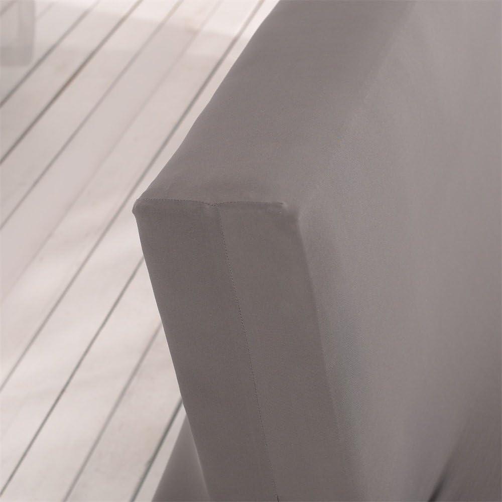 Aisaving Couleur Unie sans accoudoirs Housse de canap/é lit Stretch futon Slipcover /écran 3 Places anap/é Shield Compatible avec lit de canap/é Pliable sans accoudoirs 203 x 127 cm