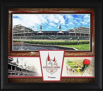 """Kentucky Derby 144 Framed 15"""" x 17"""" Event Collage - Fanatics Authentic Certified - College Player Plaques and Collages"""