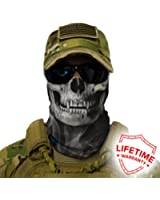 Crow Skull Face Shield Balaclava