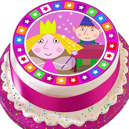 Cannellio Cakes Topper Per Torta Pretagliato Commestibile Glassa