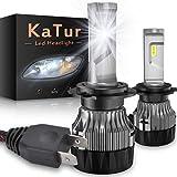 KATUR H7 Bombillas led Faros Extremadamente Brillantes 10000LM Chips CREE Mini Diseño Kit de conversión de Faros Todo en uno
