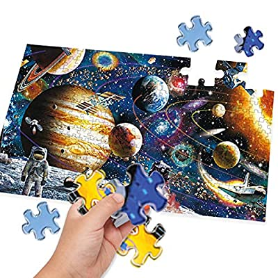 1000 Piece Jigsaw Puzzle Kids Adult, Fun Indoor Activity Intellectual Fun Family Game Artwork: Toys & Games
