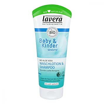 48604f6166d41f Lavera Baby   Kinder sensitiv Waschlotion shampoo 200 ml  Amazon.de ...