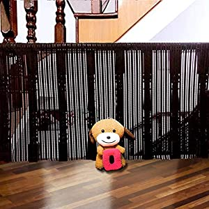 MAYbabe Child Safety Net-10ft x 2.6ft,Rail Balcony Banister, Stair Net, Safety for Kids/Toys/Pets.Patios or Balcony Use.Safety for Indoor&Outdoor.White/Brown/Black.