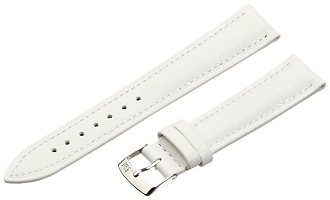 2 opinioni per Morellato cinturino di pelle unisex Musa bianco 18 mm A01X3935A69017CR18