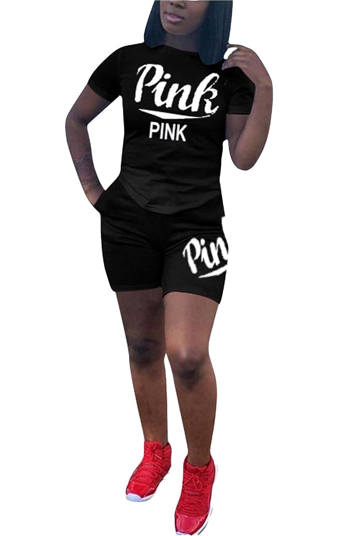 d32bded10cd034 Womens Sprots Gym Cotton Racerback Tank Top High Waist Shorts 2 PCS Sets