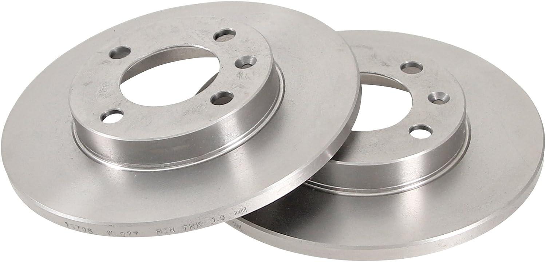 ABS 15706 Bremsscheiben Verpackung enth/ält 2 Bremsscheiben