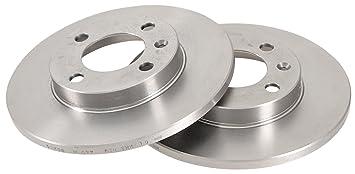 ABS 15706 Discos de Frenos, la Caja Contiene 2 Discos de Freno