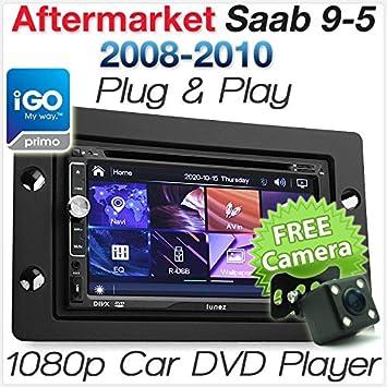 Saab 9-5 95 - Reproductor de DVD GPS para Coche (USB, Radio Estéreo, Kit de Radio Fascia ISO: Amazon.es: Electrónica