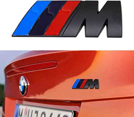 1Pcs White M-PERFORMANCE Car Front Hood Decals Sticker For 2 3 5 7 Series X3 X6