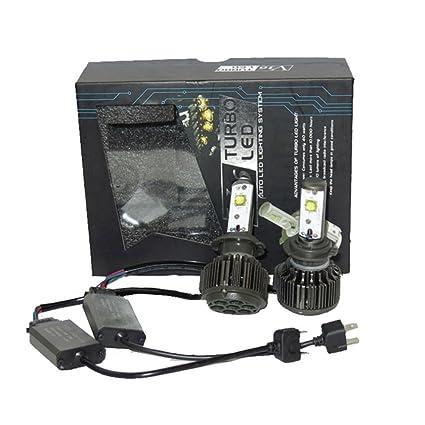 LEORX H7 Bombillas de Coche Faros Kits de Conversión 40W ...