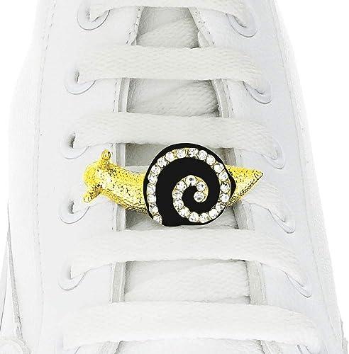 Schnürsenkel mit Schnecken Anhänger für Nike, Adidas