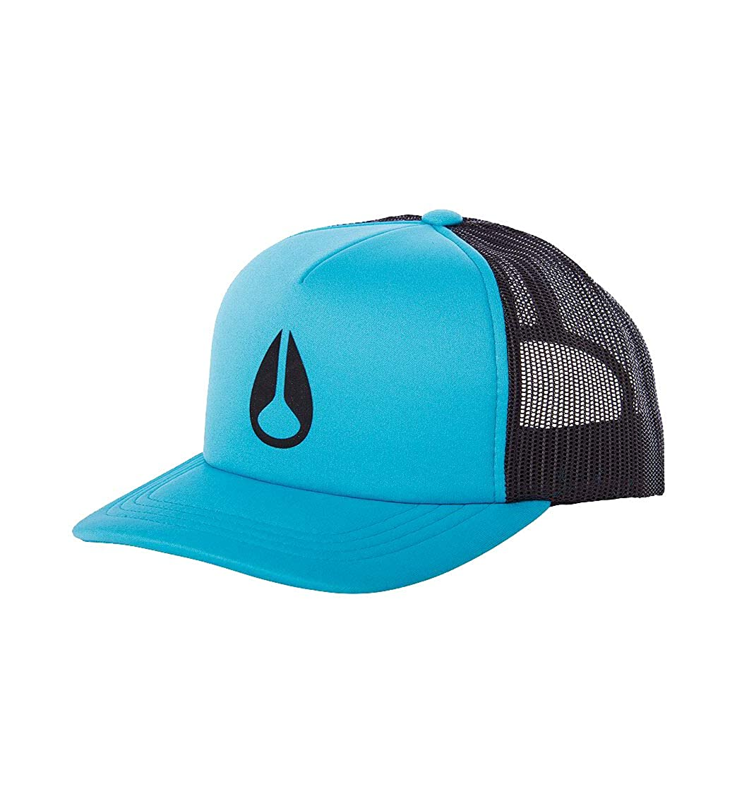NIXON Byron Foam Trucker hat Teal One Size: Amazon.es: Ropa y ...