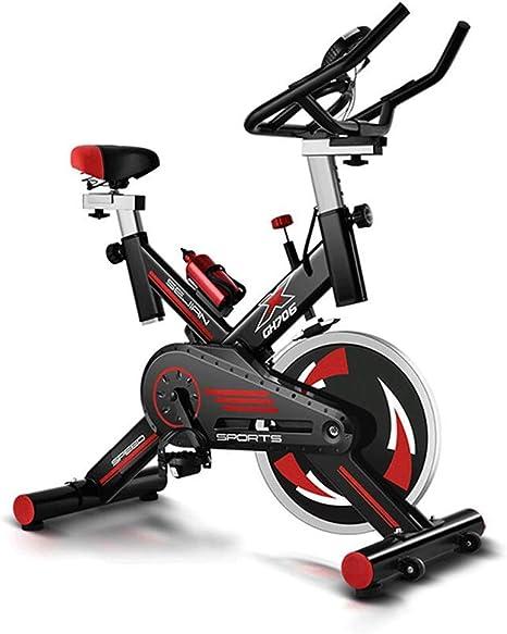 Bicicleta ciclismo interior, manillar y asiento ajustables ...