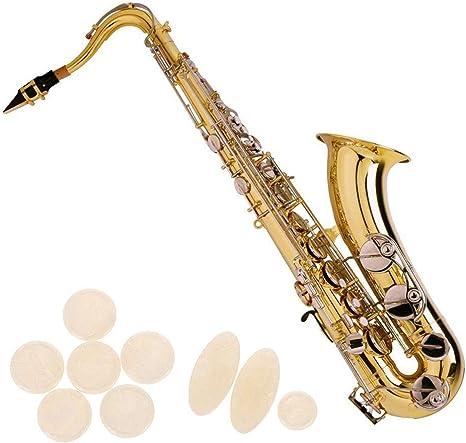 Lpyfgtp Juego de 9 broches para saxof/ón con broche y broche de bot/ón