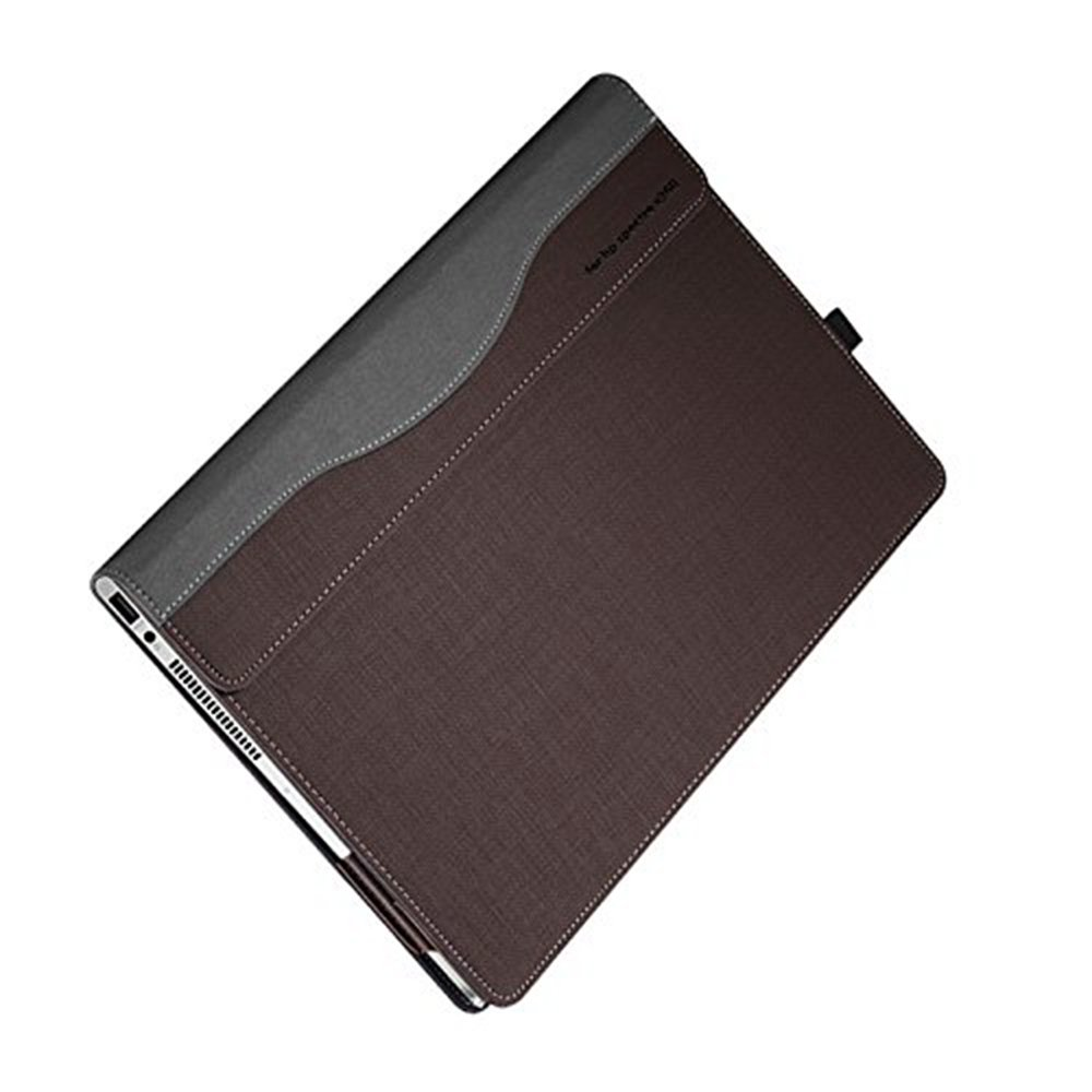 NOT FIT 15-AP000//15-BL000 Series PU Leather Folio Stand Hard Cover for Hp Spectre x360 15t touch//15-CH011NR 15.6 inch 2 in 1 Laptop Cover Case Case For Hp Spectre X360 15.6 inch ,Grey