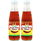 Sweet Chili Sauce - Made With Only Organic and Natural Ingredients, No MSG - Kosher - Authentic Thai Sauce - Made in Thailand 6.67oz (2-Pack)