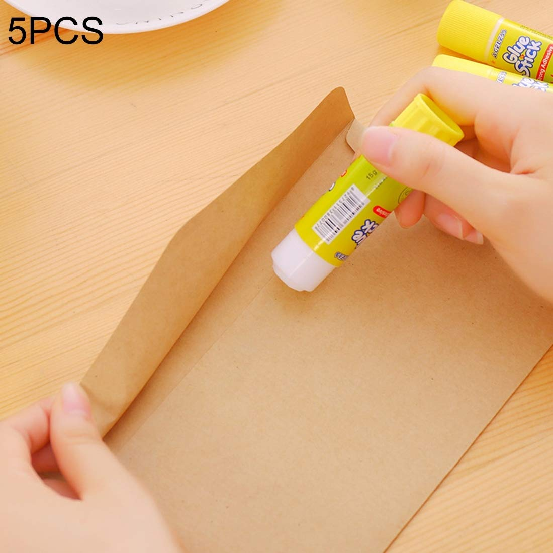 Gulakey Big Sizing: 91 x 21mm, 5 PCS Non-Toxic Substantial Adhesion Solid Glue Stick Highschool Viscosity DIY Hand Made Work Glue Trend Stationery by Gulakey