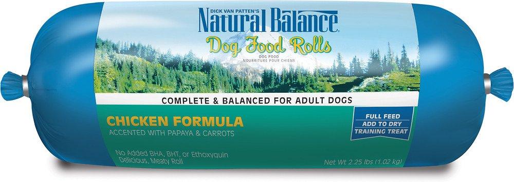 Natural Balance 3.5lb Chicken Dog Food Roll (3 pack)