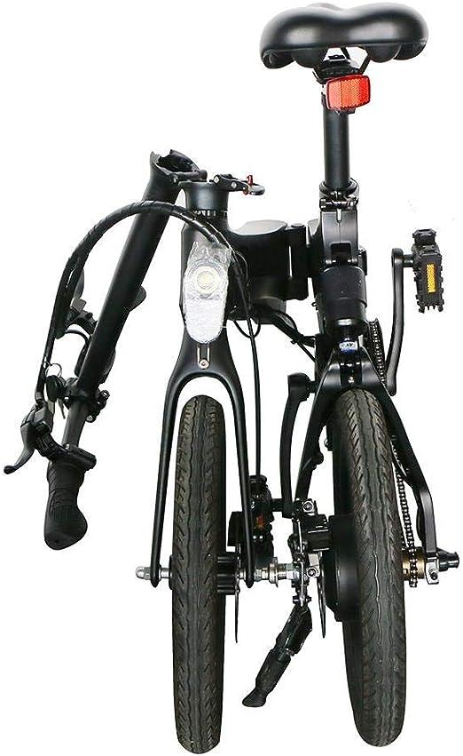 BRANDNEWS Bicicleta eléctrica Plegable, Motor Potente de 36V ...