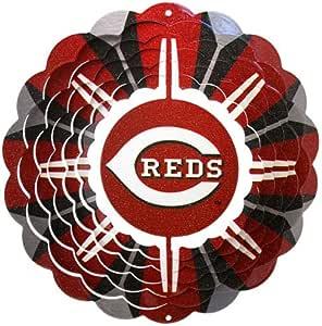Iron Stop MLB215C-10R1 Wind Spinner, Cincinnati Reds Outdoor, Home, Garden, Supply, Maintenance