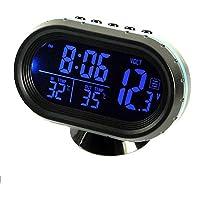 Maso - Reloj de termómetro para coche