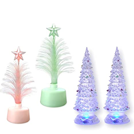 decorative glass trees