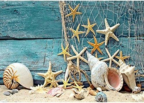 Tuu DIY 5D Full Diamond Painting,Beach Diamond Embroidery Rhinestone Pasted DIY Diamond Painting Cross Stitch Kit Wall Art Decor Diamond Painting by Number Kits Home Decor (Multicolor)