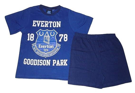 b38a34c2 Boys Pyjamas Official Everton Short 7-16 Years: Amazon.co.uk: Clothing
