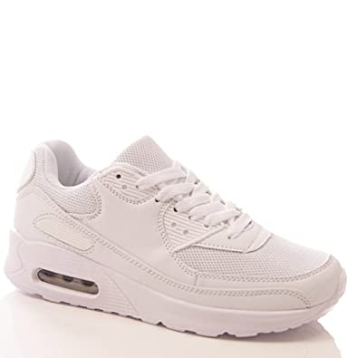 Ladies Womens Trainers P.E. Gym Fitness Running Jogging Sports Shoes Size 3  4 5 6 7 8 5417787e84