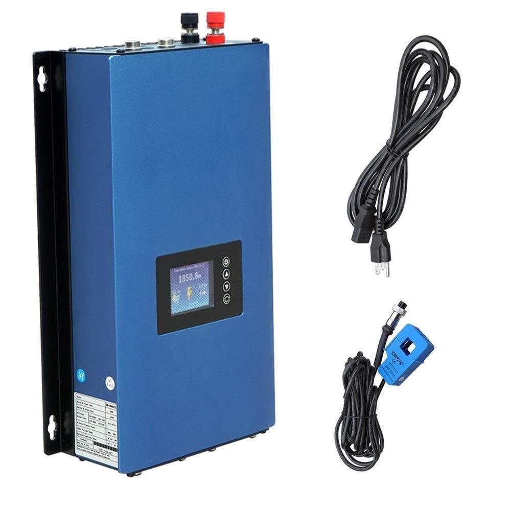 ECO-WORTHY 1000W Solar on Grid Tie Inverter Power Limiter MPPT PV System DC 45-90V to AC90-140v by ECO-WORTHY