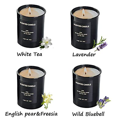 Rose Gold Hemp Wick Aromatherapy Essential Oil Candles
