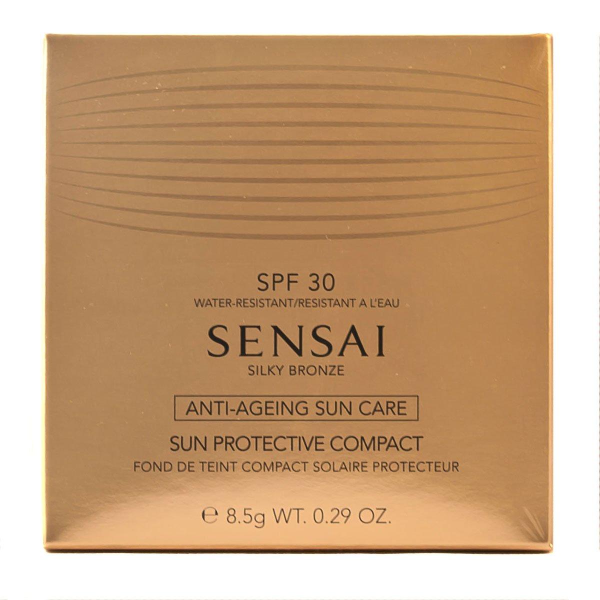 Sensai Silky Bronze femme/woman, Sun Protective Compact SPF30 Nr. SC02 Natural, 1er Pack (1 x 9 g) Kanebo 4973167902806 45799