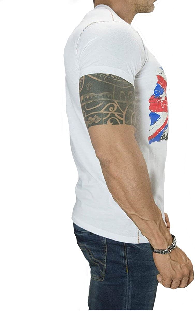 4Humanity Mens V Neck T-Shirt 4H-06