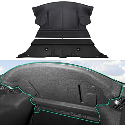 BASENOR Tesla Model 3 Rear Trunk Sound Deadening Mat Soundproof Protective Pad Audio Noise Insulation and Dampening: Automotive