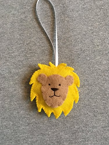 Lion Ornament in Felt ()