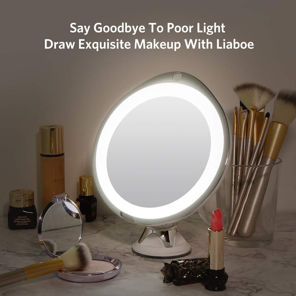 espejo belleza portátil