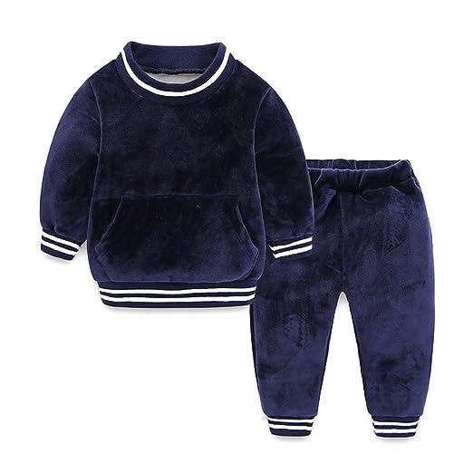 Weentop Conjunto de Pijamas de Invierno para bebés y niños ...