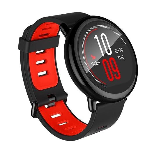 Xiaomi Amazfit Pace, Relojes Inteligentes Xiaomi Amazfit, Relojes Deportivos con GPS Bluetooth Reloj Inteligente Pantalla Táctil Monitor de Ritmo Cardíaco ...